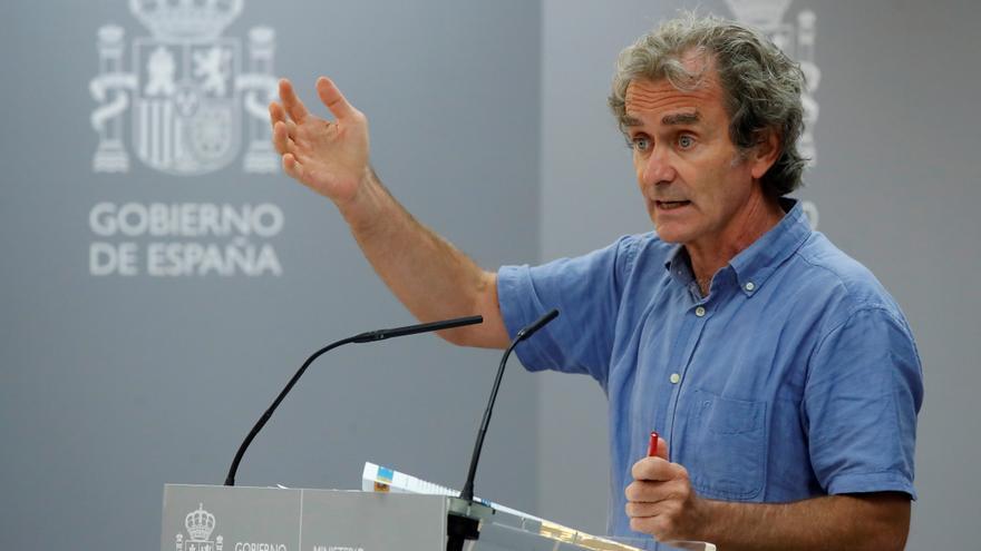 """Simón augura un incremento de casos tras el periodo """"álgido"""" del 15 de agosto"""