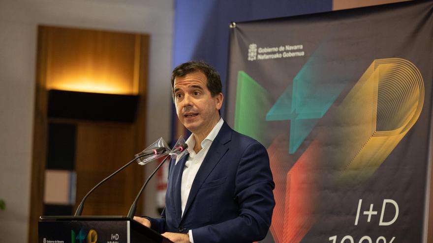 Archivo - El consejero de Desarrollo Económico y Empresarial del Gobierno de Navarra, Mikel Irujo.