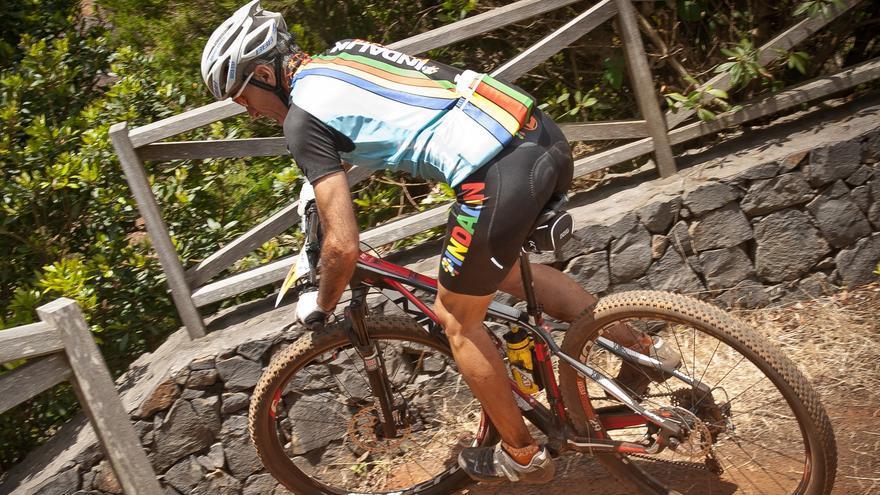 'Transvulcania Bike'. Foto: Alexis Martín.