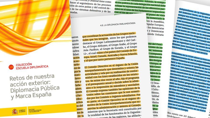 Pablo Casado copió párrafos enteros de la web del Congreso para realizar un artículo.