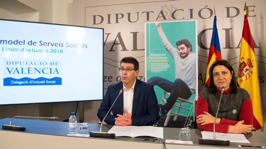 Jorge Rodríguez y Rosa Pérez Garijo han presentado los presupuestos del área para 2018