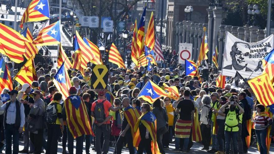 La Junta Electoral pide sancionar a TV3 por cómo cubrió la manifestación de Madrid