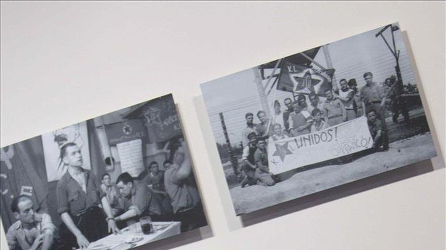 Una exposición reúne fotos inéditas de Francesc Boix, fotógrafo de Mauthausen