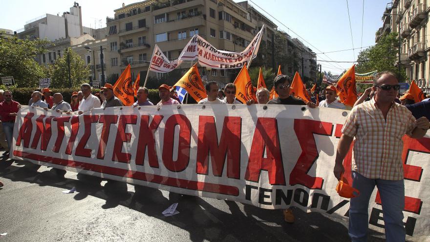Grecia vuelve a paralizarse por la quinta huelga general del año