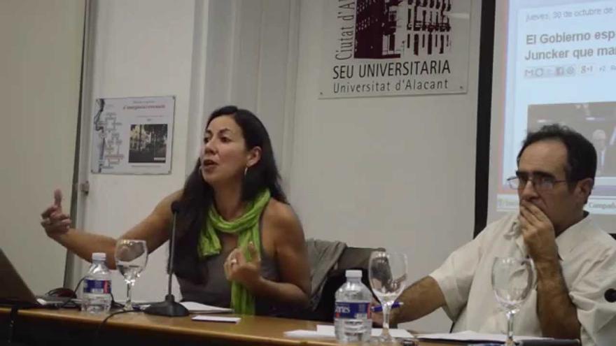 Mónica Vargas reclama que es vigili si les empreses catalanes respecten els drets humans quan inverteixen a l'exterior