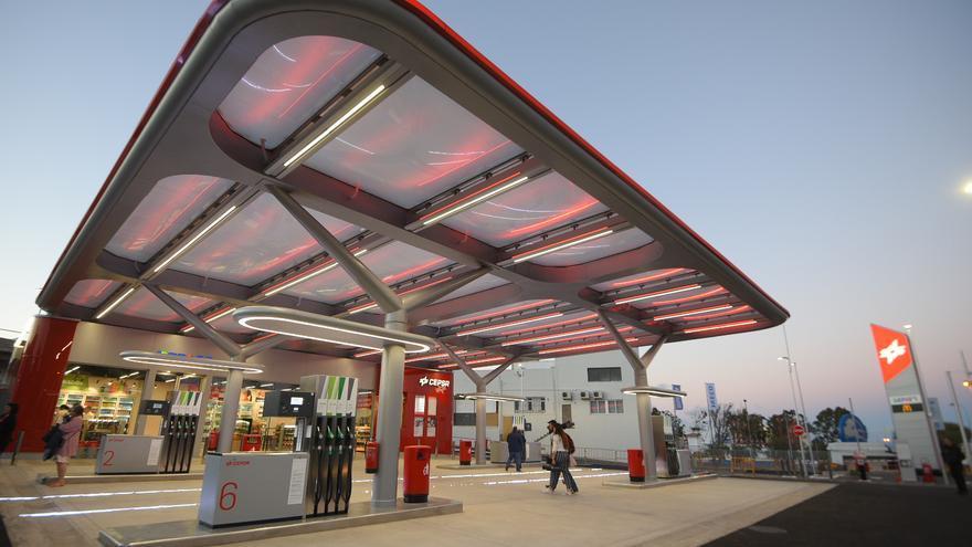 Nueva estación de servicio de Cepsa en Taco