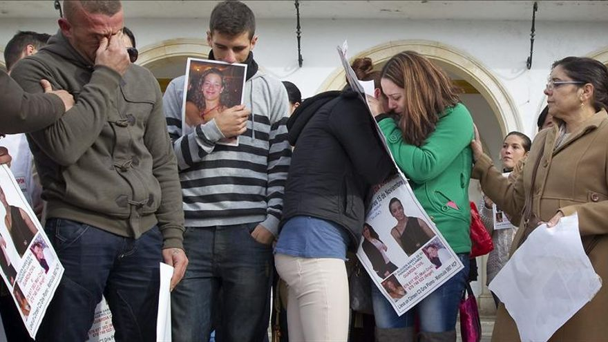 Manifestación en Marchena en apoyo a la familia de la desaparecida