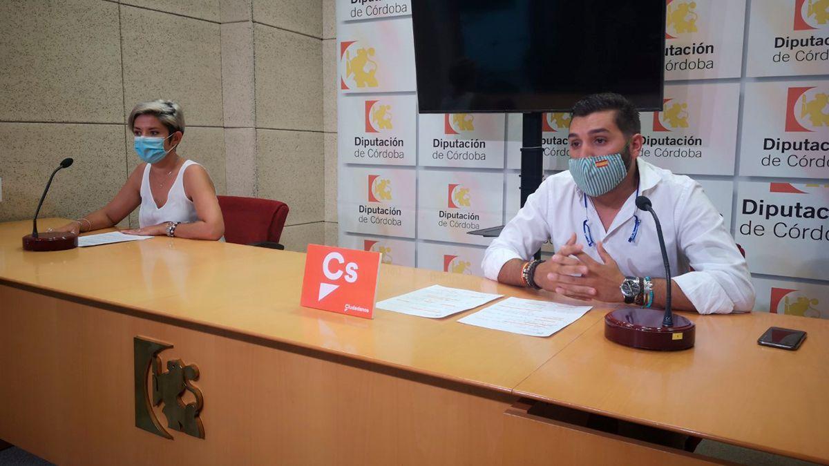 Navarro y Castellano, diputados provinciales de Cs.