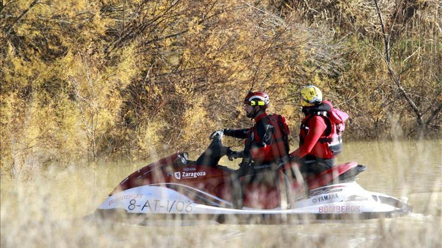 Rastrean sin éxito el Ebro en busca del brasileño desaparecido en Nochevieja
