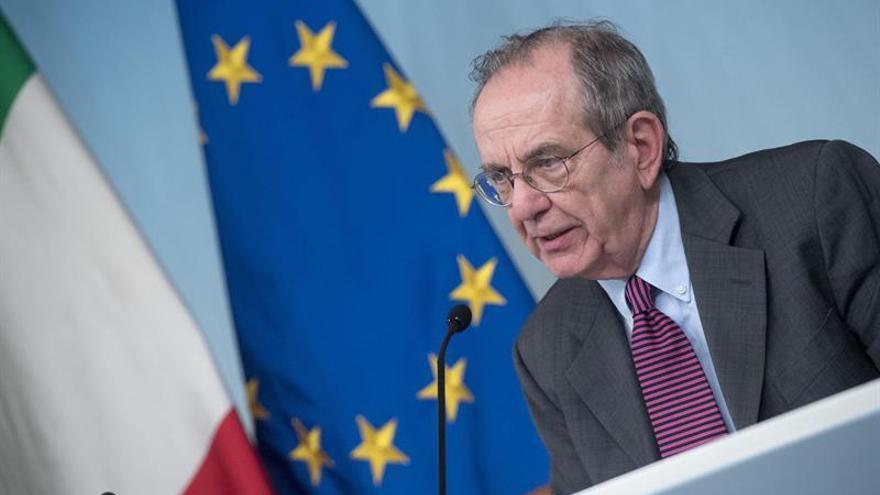 """Italia dice que hay """"neta mejora"""" en la venta de créditos bancarios dudosos"""
