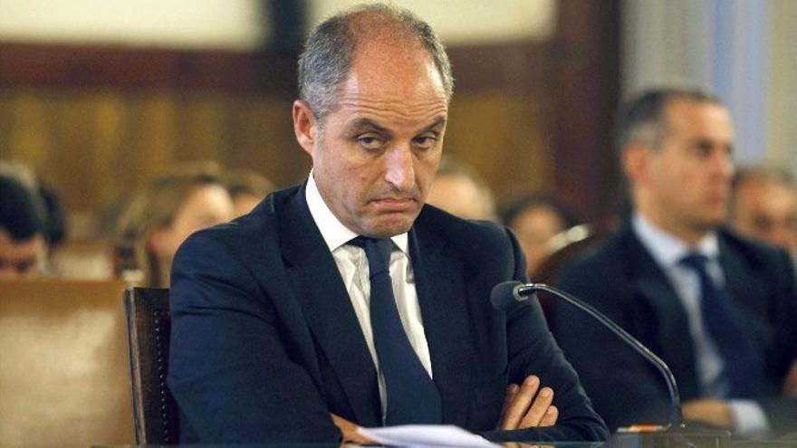 Procesan a Camps, expresidente de la Comunidad Valenciana, por la Fórmula 1