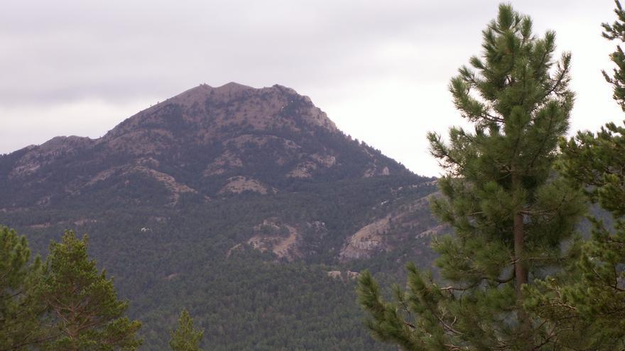 El pico del Penyagolosa.