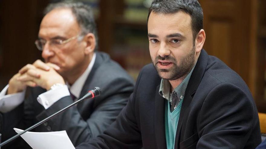 El consejero de Presidencia, Justicia e Igualdad del Gobierno de Canarias, Aarón Afonso.