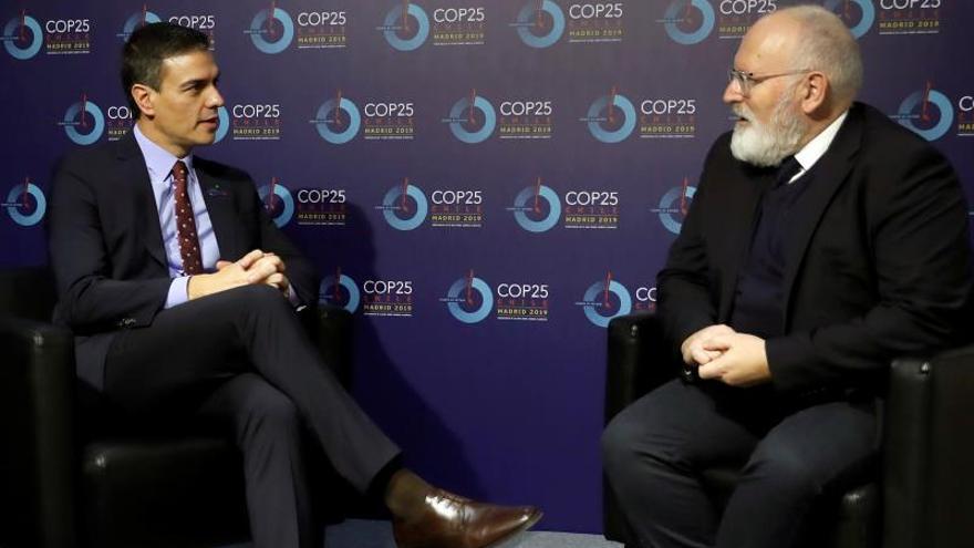 """Timmermans en la COP25: """"Prefiero que no haya acuerdo a un mal acuerdo"""""""