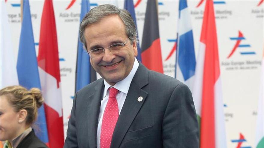 Samarás pide a Turquía acabe con provocaciones y permita reapertura diálogo