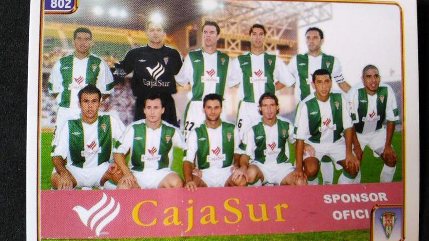 Un cromo de la temporada 2004-05.