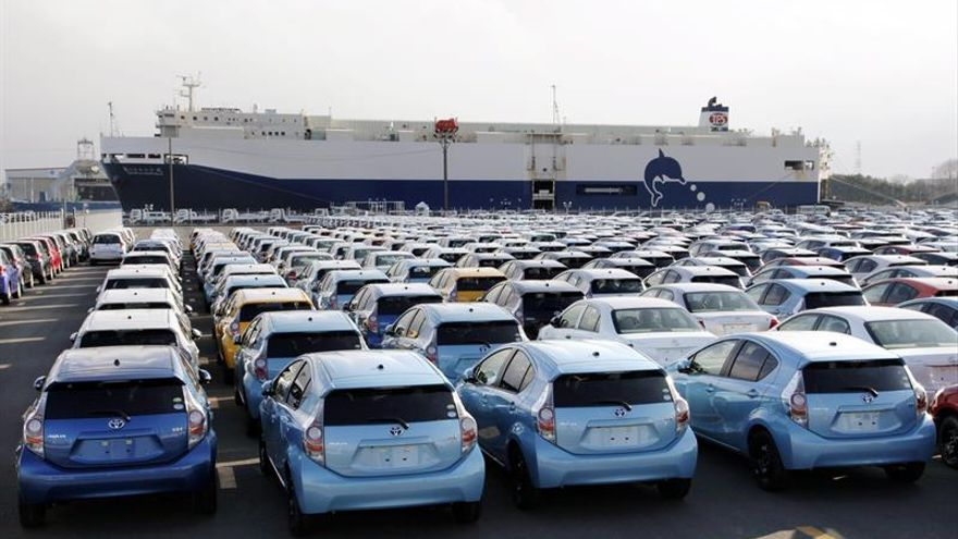 Toyota aumenta su producción un 1,3 % en los ocho primeros meses del año