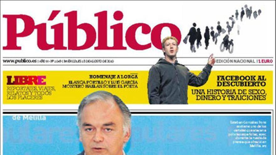 De las portadas del día (18/08/2010) #12