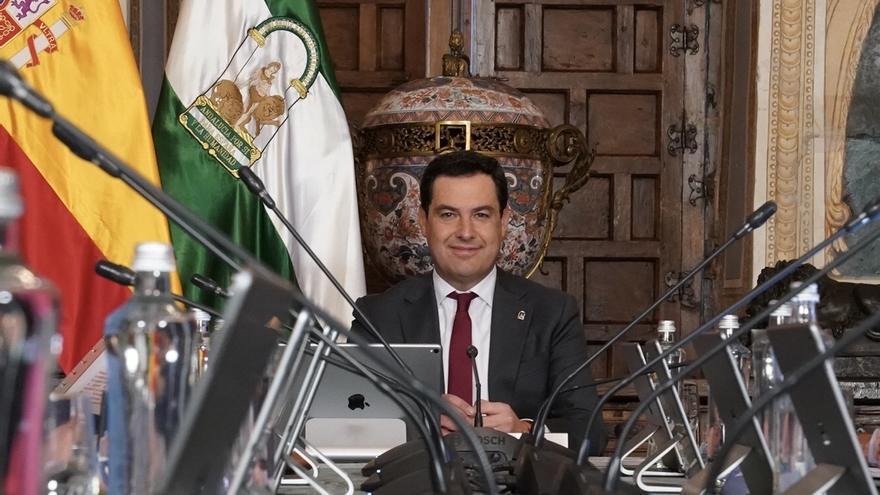 """Moreno reivindica, tras la investidura de Pedro Sánchez, """"moderación y entendimiento"""" y """"lealtad institucional"""""""