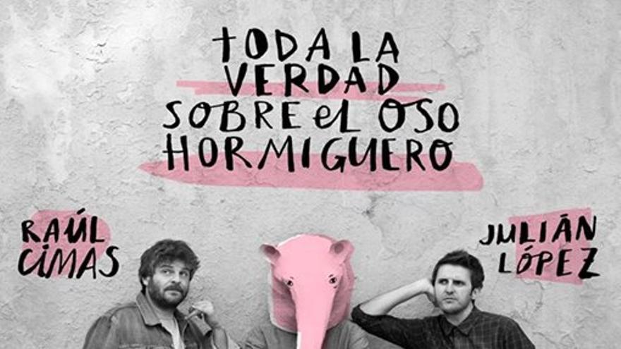 Cartel del espectáculo de Raúl Cimas & Julián López en Cartagena