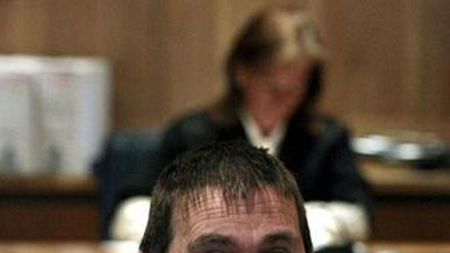 Imagen de Otegi en el juicio en la AN