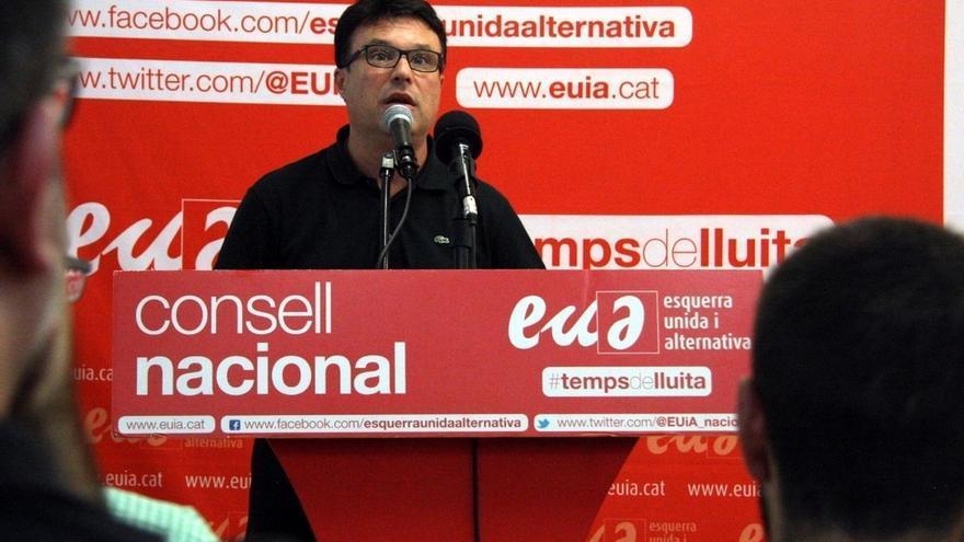 """Nuet (EUiA) pide """"salir a la calle"""" el 9N aunque no sea para votar"""