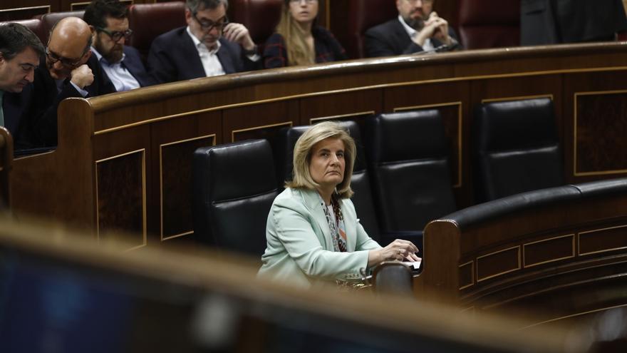 Báñez dice que la entrada en vigor del factor de sostenibilidad en 2019 no está fomentando las prejubilaciones