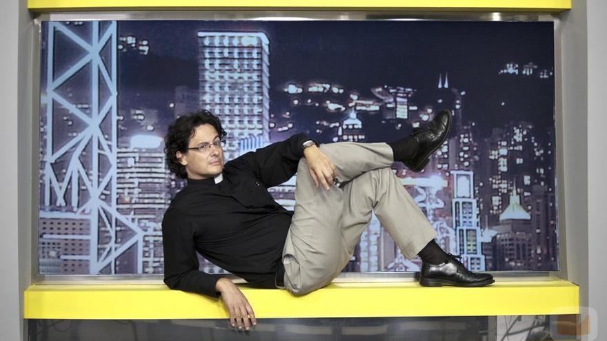 El cura Javier Alonso, que empezó su andadura mediática en 13TV