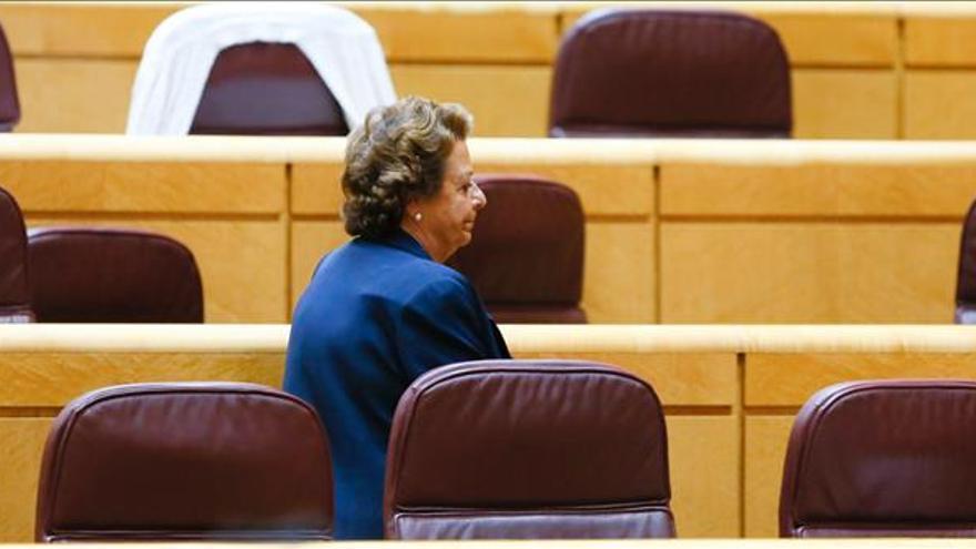 El TSJCV ve al Supremo competente para ver la denuncia contra Rita Barberá