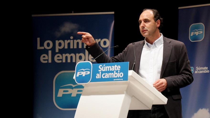 Ignacio Diego ha sido presidente del PP durante trece años y presidente de Cantabria cuatro.