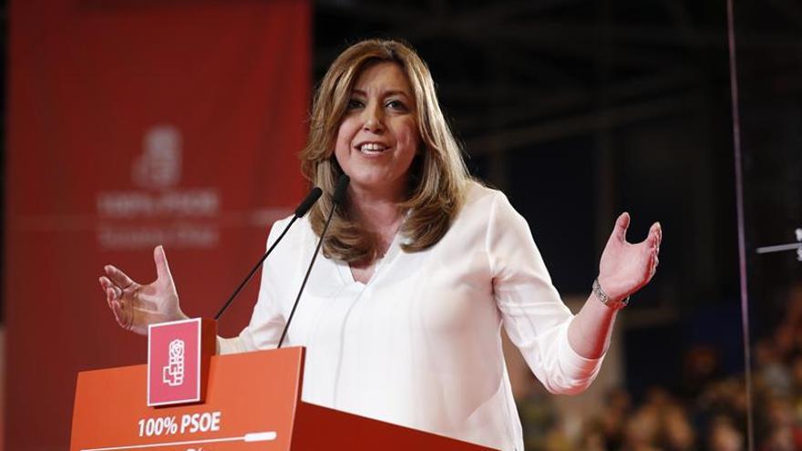 """Díaz: """"Más a la izquierda del PSOE no hay ninguna izquierda transformadora"""""""