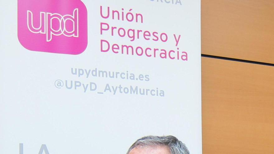 José Antonio Sotomayor, número 1 de UPyD al Congreso de los Diputados por la Región de Murcia