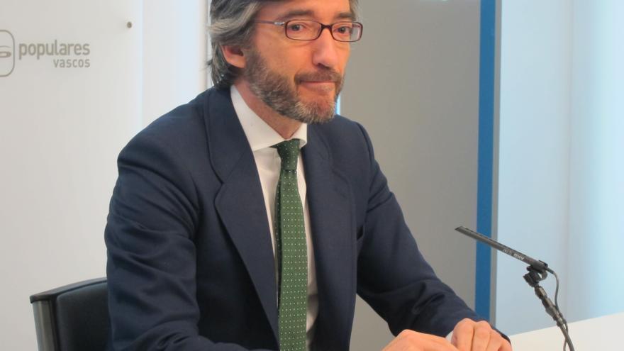 """Oyarzábal dice que el PP tiene """"legitimidad"""" para reivindicar la figura de Gregorio Ordóñez """"asesinado por ser del PP"""""""