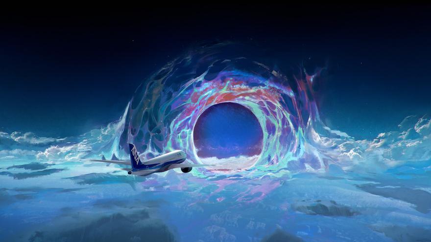 Los pasajeros de un avión que viaja hasta 2037 protagonizan 'Seat 14C'