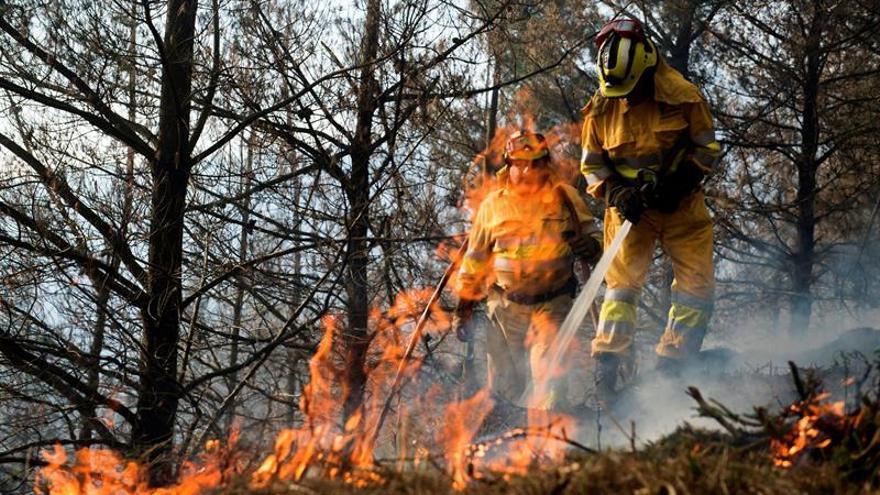 Cantabria, un mes de incendios forestales