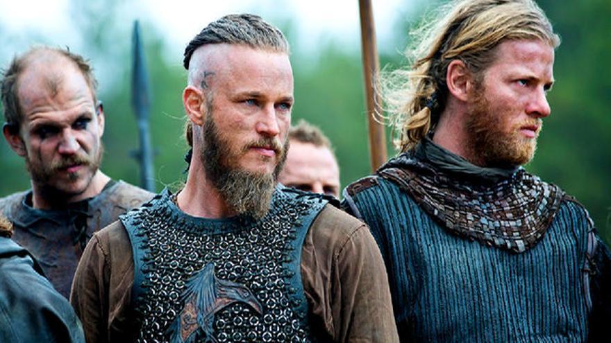 Imagen promocional de 'Vikings'