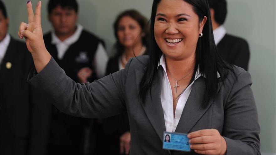 Keiko Fujimori encabeza la intención de voto para las elecciones de 2016 en Perú