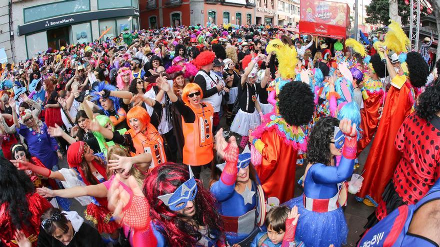 Carnaval de Día, en Santa Cruz de Tenerife