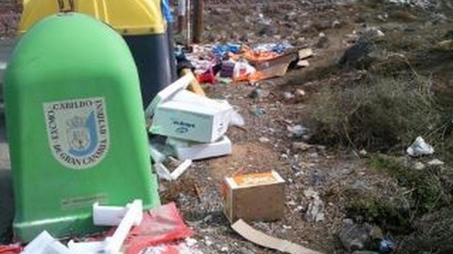 De acumulación de basura en LPGC #2