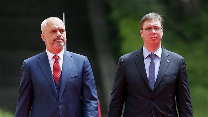 Albania y Serbia dispuestas a cooperar, pese a sus diferencias sobre Kosovo