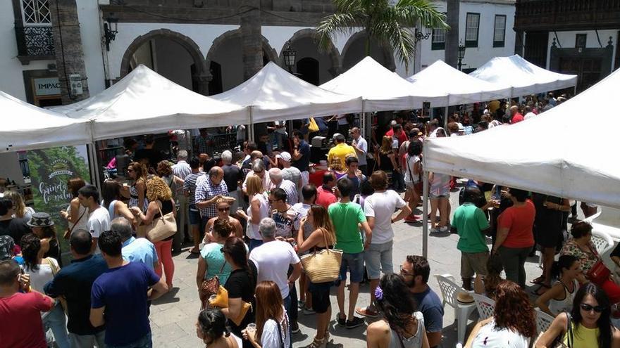 Imagen de archivo de la primera edición de la 'Feria de La Garimba'.