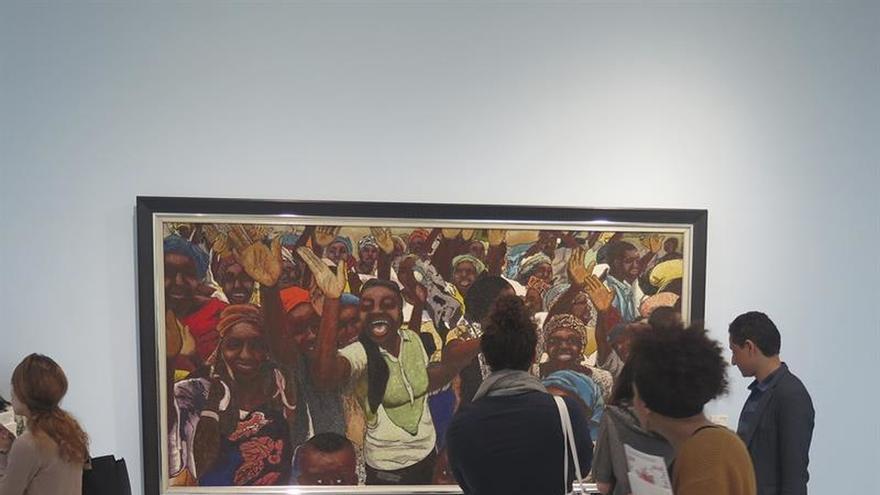Rabat se viste durante un mes de arte africano