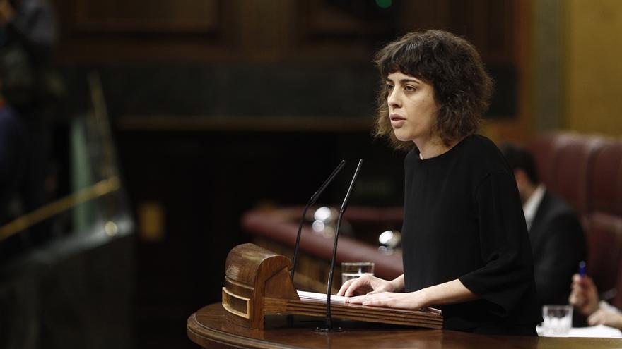 """Alexandra Fernández (En Marea): """"Las puertas están abiertas a un diálogo con el PSOE"""