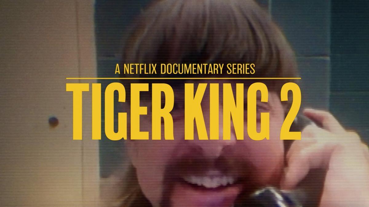 Cartel promocional de 'Tiger King 2'