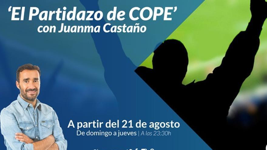 Juanma Castaño ya tiene nombre para su nuevo programa estelar en Cope