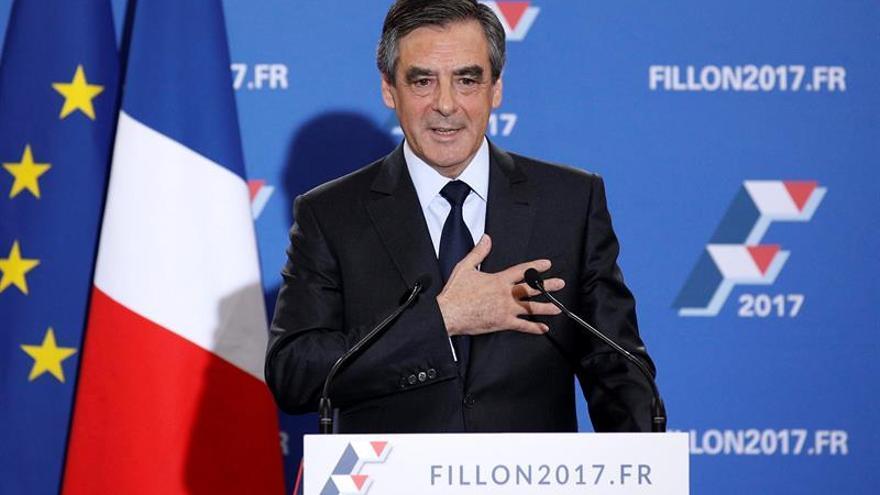 Un sondeo sitúa a Fillon como claro vencedor en las Presidenciales de Francia