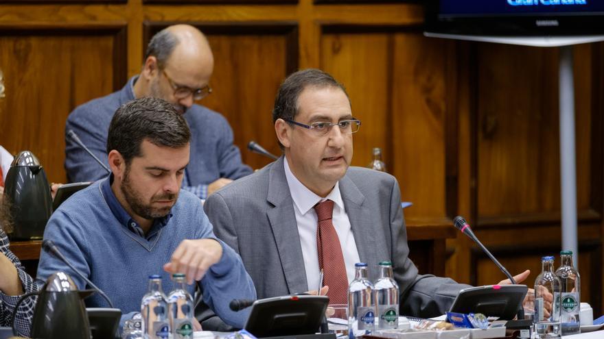 El portavoz del PP en el Cabildo de Gran Canaria, Felipe Afonso El Jaber (Flickr Cabildo de Gran Canaria)
