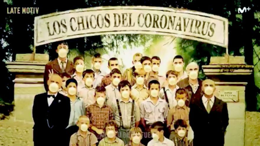 """La parodia musical de 'Late motiv' sobre la epidemia: """"Los chicos del coro...navirus"""""""