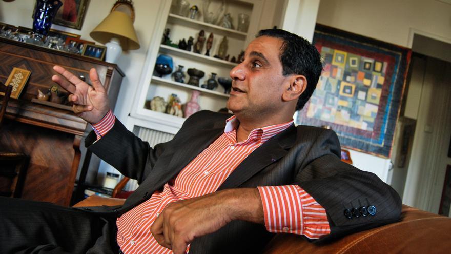 Elie Hatem, francés de origen libanés, codirector del colectivo de extrema derecha Acción Francesa y militante del Frente Nacional / José Bautista