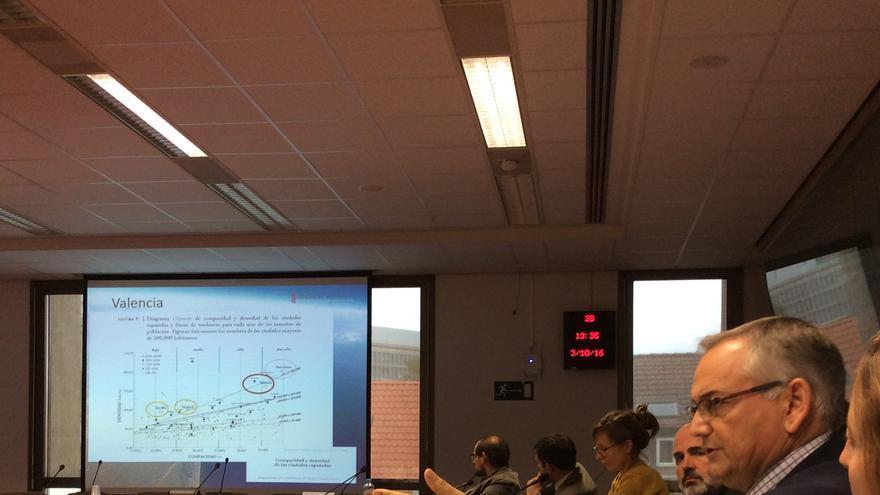 El secretario autonómico, Josep Vicent Boira, este lunes en Bruselas